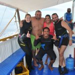 Diving with Thresher Shark - Gary